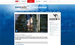Der Barfußpark Beelitz-Heilstätten im inforadio